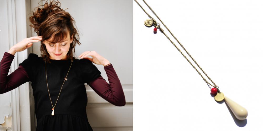 collier sautoir bijoux fantaisie créatrice paris