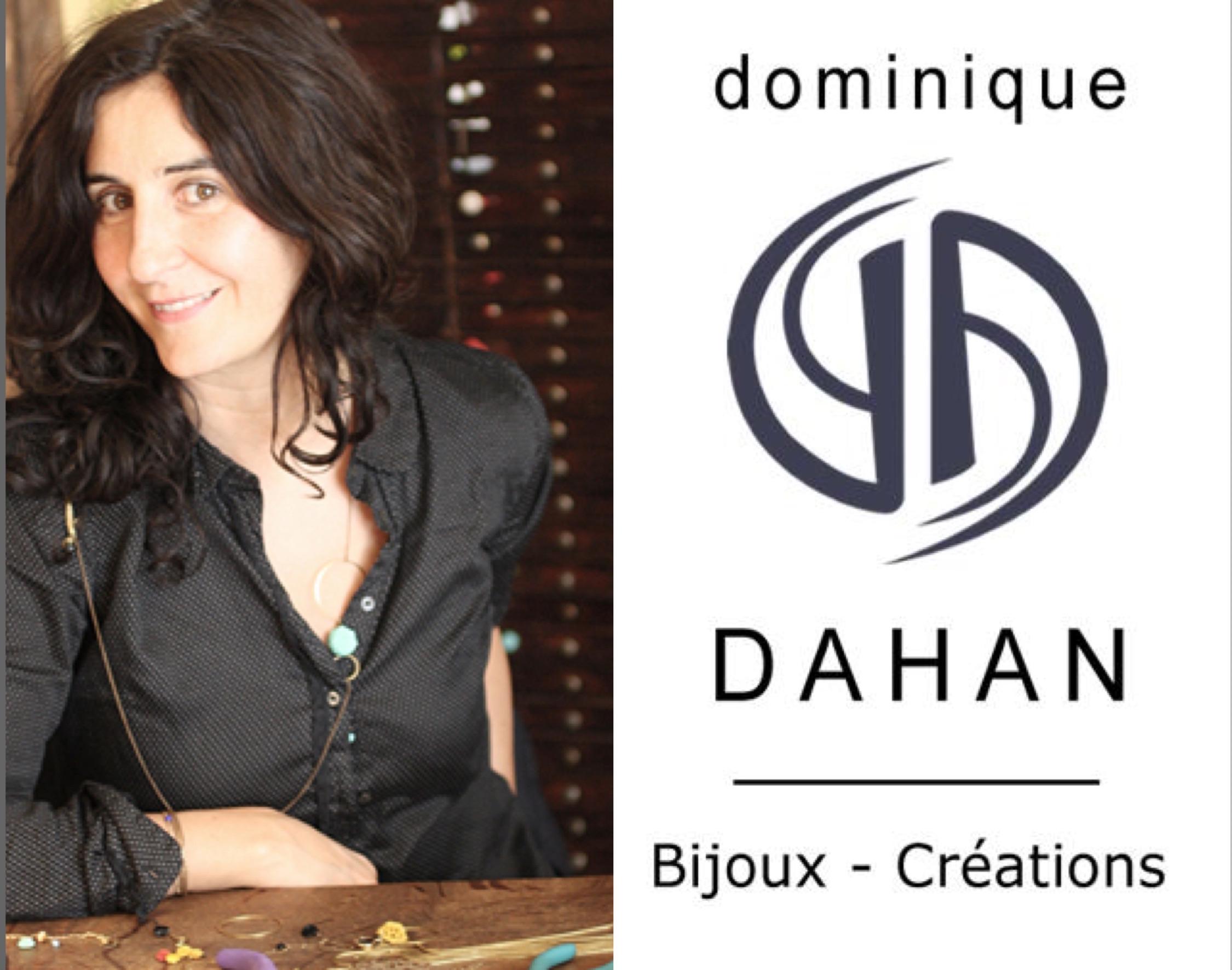 portrait créatrice de bijoux Dominique Dahan Bijoux