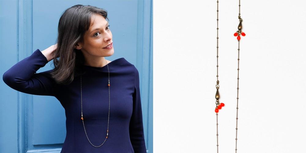 collier createur bijoux fantaisie