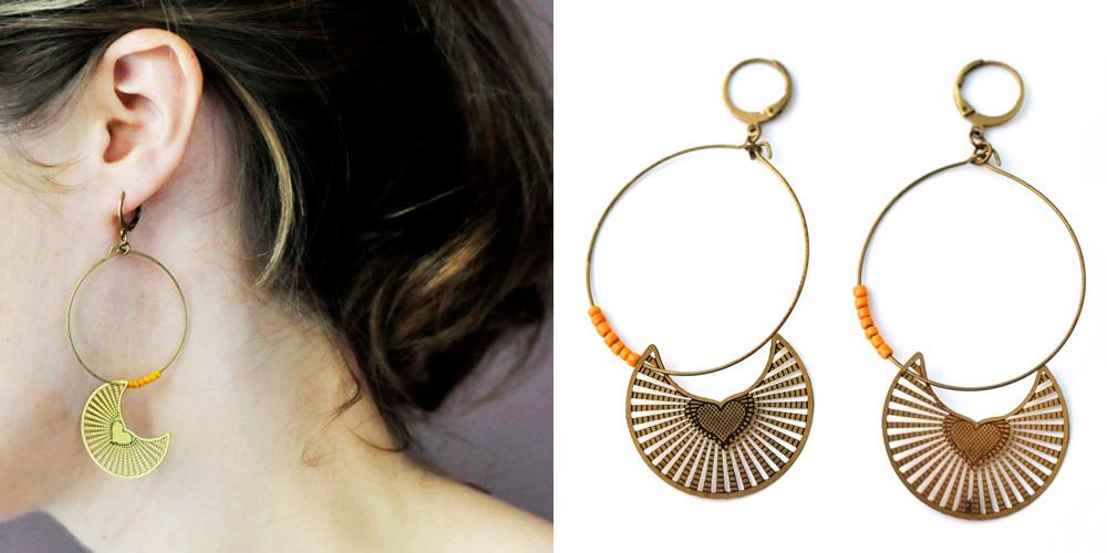 boutique en ligne bijou paris boucles d'oreilles