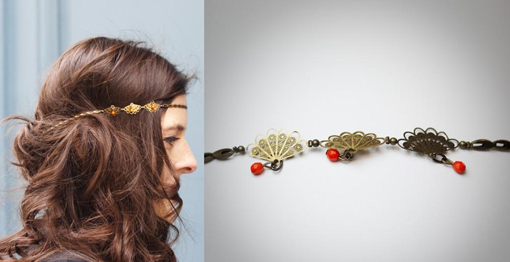 headband fantaisie fait main paris marais
