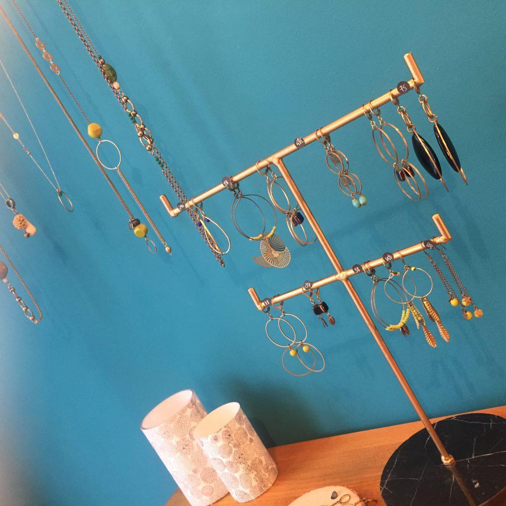 Bijoux créateurs, sautoirs , colliers, boucles d'oreilles, Atelier boutique Paris Haut Marais